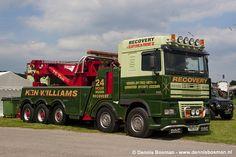 DAF 95XF - Ken Williams Recovery in the UK Heavy Duty Trucks, Big Rig Trucks, Heavy Truck, Semi Trucks, Cool Trucks, Train Truck, Road Train, Tow Truck, Towing And Recovery
