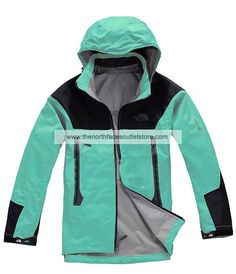 The North Face Green Wool Men Gore Tex Pro Jackets