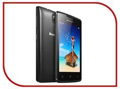 Сотовый телефон Lenovo A1000 Dual Sim Black  — 3350 руб. —