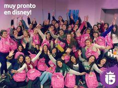 Nos reunimos con las chicas del grupo #RosaJ16! Se viene se viene #Disney! #Enjoy15