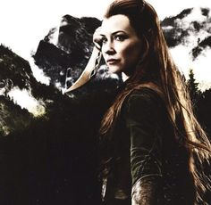 I love Tauriel, she is such a great role model for girls/women! Thranduil, Legolas, Kili And Tauriel, Lotr Elves, Cool Uncle, O Hobbit, Desolation Of Smaug, An Unexpected Journey, Evangeline Lilly