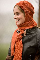 Ravelry: Nomad Hat and Scarf pattern by Kat Coyle
