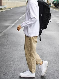 インスタ→shingo__115 Stylish Mens Outfits, Casual Outfits, Men Casual, Look Fashion, Urban Fashion, Fashion Outfits, Mode Streetwear, Streetwear Fashion, Outfits Hombre