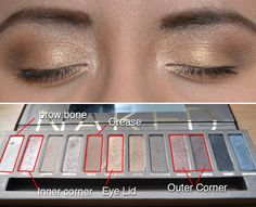 One of my favorite eye makeup looks using urban decay's NAKED palette