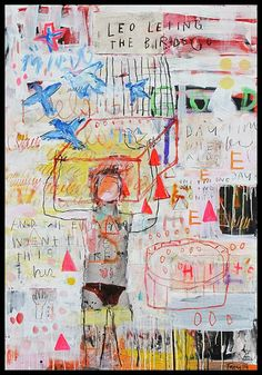 Troy Henriksen - Leo Leting The Birds Go - Galerie W - Galerie d'Art…