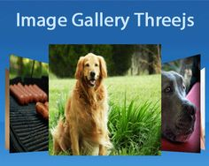 Image Gallery Threejs is a 3D rotating carousel plugin with jQuery and three.js