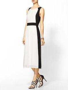"Rhyme Los Angeles ""Penelope Dress"", via Piperlime 80s Fashion, Womens Fashion, Fashion Ideas, Ladies Fashion, Style Fashion, Fashion Inspiration, Simple Dresses, Dresses For Work, Formal"
