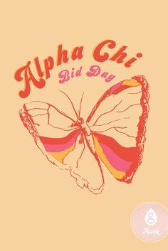 Butterfly   Geneologie   Alpha Chi   Bid Day   Rainbow   Sorority Theme Alpha Sigma Alpha, Alpha Chi Omega, Big Little Canvas, Bid Day Themes, Sorority Canvas, Festival Wear, Good Books, Butterfly, Neon Signs