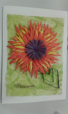 Quilling Cards, Card Making, Tableware, Dinnerware, Tablewares, Handmade Cards, Dishes, Place Settings, Cards To Make