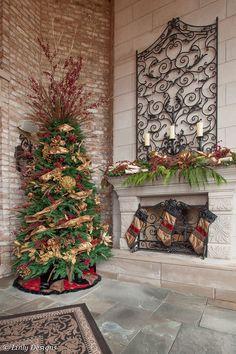 Linly Designs :: Outdoor Christmas Home Decor