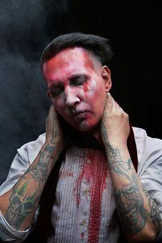 marilyn manson 2015 | ... oficial agregando esta nueva fotografía promocionalde Marilyn Manson