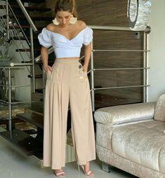 on the go outfits Fashion Pants, Look Fashion, Hijab Fashion, Girl Fashion, Fashion Dresses, Womens Fashion, Fashion Ideas, Classy Outfits, Stylish Outfits