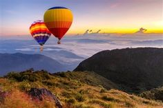 Colorful Hotair Balloons Flying Over The Doi Luang Chiang Dao With Sunrise And M , Personalized Photo Gifts, Create Photo, Photo Center, Chiang Mai, Hot Air Balloon, Still Image, Photo Book, Royalty Free Images, Mists