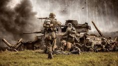 Great Military Battles, A History of Warfare Military Photos, Military Art, Military History, German Soldiers Ww2, German Army, Mg34, Ww2 Photos, World War Two, Wwii