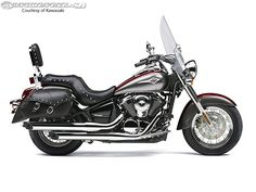 2014 Kawasaki Vulcan 900 Classic LT. Nice look but little longer than my Vulcan 800.... which my back does not appreciate. Correct sitting position is very important for friendship with my back :-)