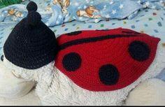 Gorro y capa Catarina crochet