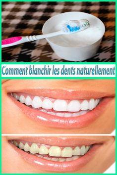 Comment blanchir les dents naturellement