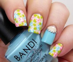 INTERMEDIATE NAIL ART DESIGN IDEAS - Peace, Love and Polish: Guest Post: Elizabeth from Did My Nails
