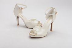 FGN Brand Summer Lady Peep Toe Patent Leather Party Pump Shoes N52D790K - White