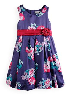 party princess floral satin dress  $34.99 (normally $54.99)  Sophie