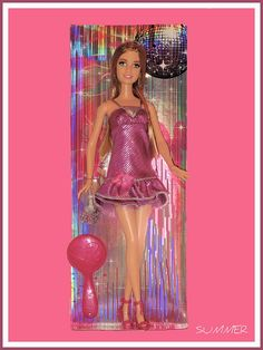 * Summer, friend of Barbie. Vinyl fashion doll, Mattel, 2007. Asst. N4844, N7471. In my collection. Dec. 2009.     Great fashion tips for elegance for $17