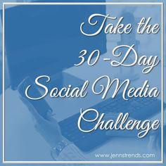 Take the Social Media Challenge!
