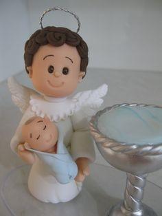 Topo de Bolo para Batizado