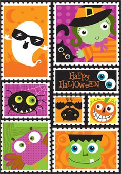 How cute are these? Happy #Halloween Stickers from Creative Teaching Press!