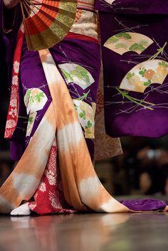 Geiko's kimono: photo by NAEYES