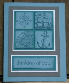 Stampin Up Open Sea card