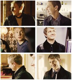 Day 27: Character you'd most like to be - John Watson. He's just so cute and loveable. And who doesn't want to hang out with Sherlock?
