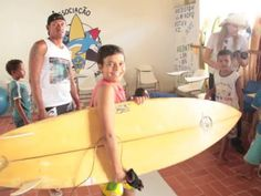 Here's a sneak peek at a feature in our Summer 2014 issue of Compassion Explorer Magazine, which will mail out May 30, about a Compassion child development center in Brazil that offers surfing lessons to sponsored kids.