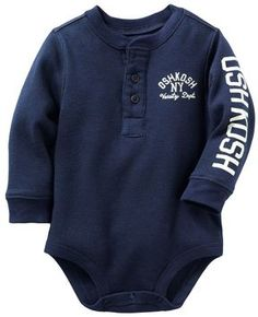 Oshkosh b'gosh ® thermal bodysuit - baby
