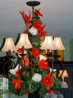 Tropical Decorations ~ for Bridal Shower or Summer!