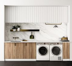 Okay coolest laundry room ever