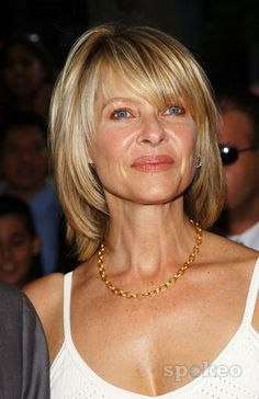 55 best Kate Capshaw images on Messy Bob Hairstyles, Haircuts For Fine Hair, Hairstyles Over 50, Pretty Hairstyles, Medium Hair Cuts, Short Hair Cuts, Medium Hair Styles, Short Hair Styles, Short Brown Hair