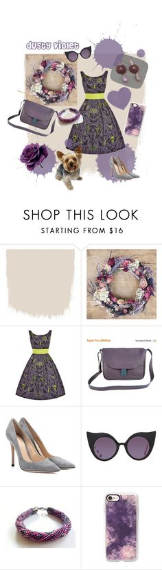 """""""Gifts for Her"""" by agnkam ❤ liked on Polyvore featuring Gianvito Rossi, Preen and Casetify"""