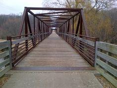 gorgeous bridge in  Wisconsin