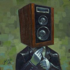Hi Fidelity Head by `jasinski