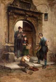 Théodore Gérard ~ Genre scenes | Tutt'Art@ | Pittura * Scultura * Poesia * Musica |