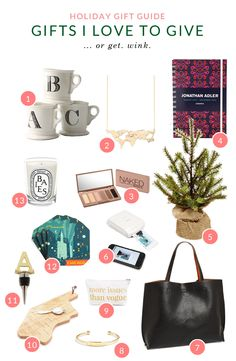 Gift ideas under $50 | Holiday Gift Guide by @halliekwilson