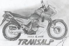 Honda XL600V Transalp.