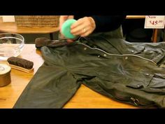How to Reproof a Wax Jacket with Rick from the London Trading Post Barbour Jacket, Wax Jackets, Trading Post, Khaki Pants, Menswear, Leather Jacket, Mens Fashion, My Style, Casual