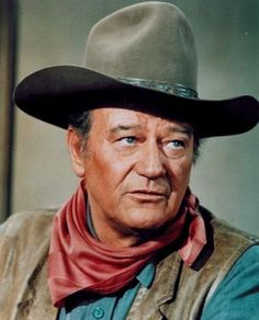 I grew up watching John Wayne with my Dad...Many, MANY memories.  I have probably seen just about every movie...