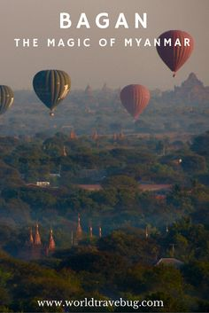 BAGAN - the magic of Myanmar.  A  quick guide on how to spend a few days in this unique place