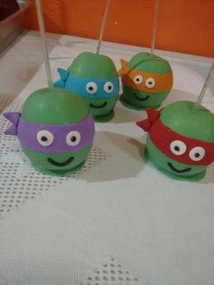 Manzanas Tortugas Ninja
