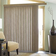 jcp   JCPenney Home™ Suede-Look Vinyl Vertical Blinds
