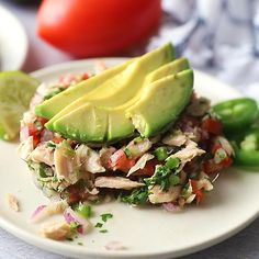 Canned Tuna Ceviche is a great way to jazz up canned tuna fish! Tuna Sandwich Recipes, Tuna Fish Recipes, Canned Tuna Recipes, Seafood Recipes, Mexican Food Recipes, Chicken Recipes, Healthy Tuna Sandwich, Tuna Fish Sandwich, Mexican Desserts