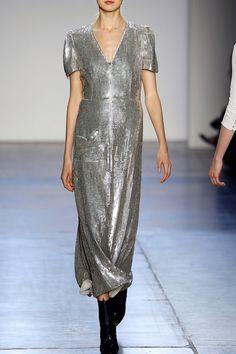 Giulietta Fall Winter 2016 silver silk dress - FALL WINTER 2016 GIULIETTA - in preo on www.PRECOUTURE.com