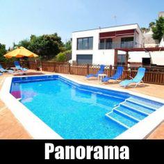 Ferienhaus Santa Susanna Costa Maresme Villa Spanien Panorama